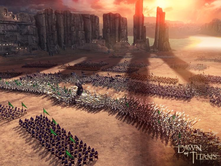 Dawn of Titans_Battle Scene