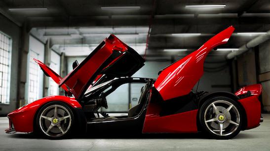 CSR2 Red Car