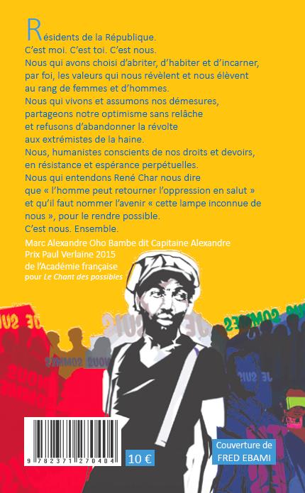 Résidents de la République - Marc Alexandre Oho Bambe - 4eCouv